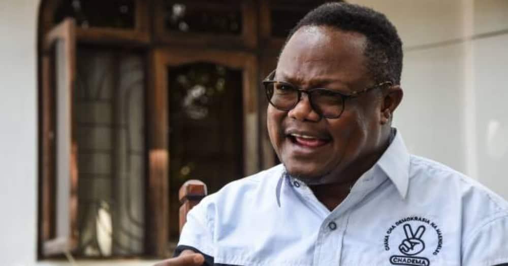 Tanzanian opposition leader Tundu Lissu has been living in exile in Belgium since November 2020.