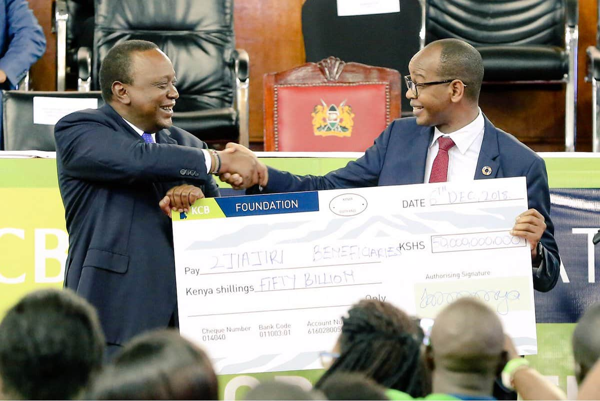 KCB Bank commits KSh 50 billion to support entrepreneurship among the youth