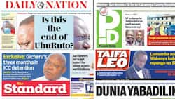 Newspapers review for Feb 5: Uhuru tears into Ruto's loyalty during Moi anniversary celebration