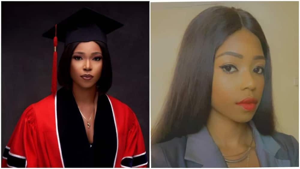 Nigerian lady who used to lie, she's on vacation in South Africa back with Ph.D.