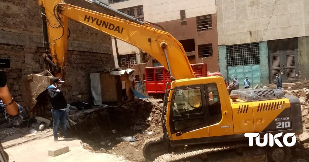 Nairobi traders count huge losses as NMS demolishes Stalls