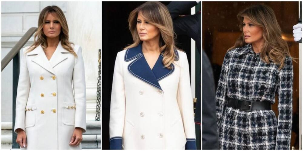8 iconic looks of Melania Trump during her time as FLOTUS