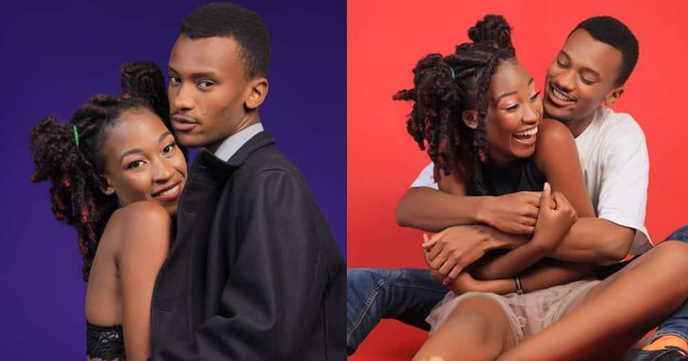 Machachari actor Tosh and his girlfriend
