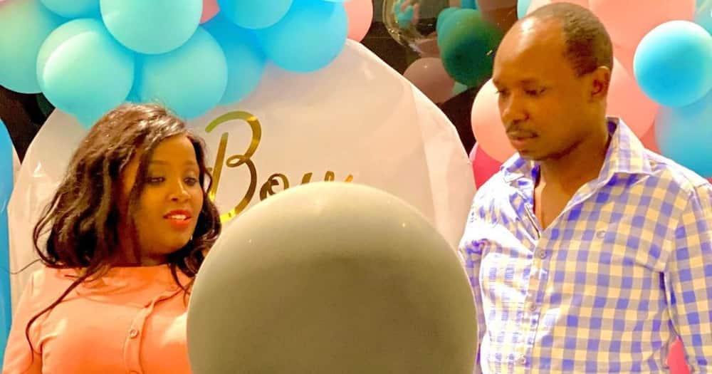 Thitima Hitmaker Kymo, Wife Raych Gitau Announce They Are Expecting Baby Girl