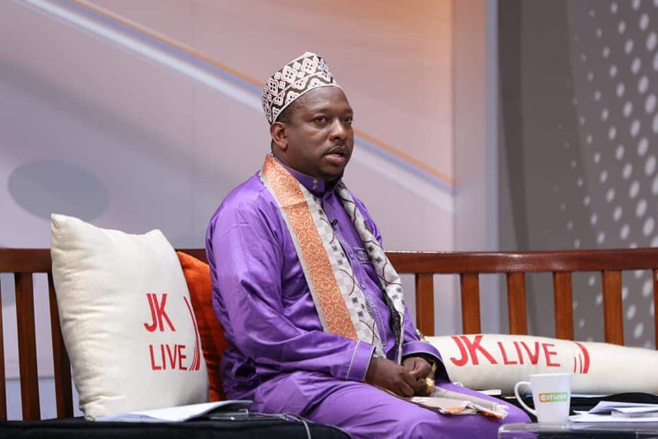 Mike Sonko's live TV interview cut shot due to standards, quality control