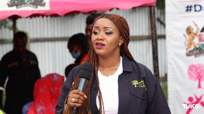 "Cate Waruguru Dares Mwangi Kiunjuri to Vie for Laikipia East Parliamentary Seat: ""Nitakunyorosha"""