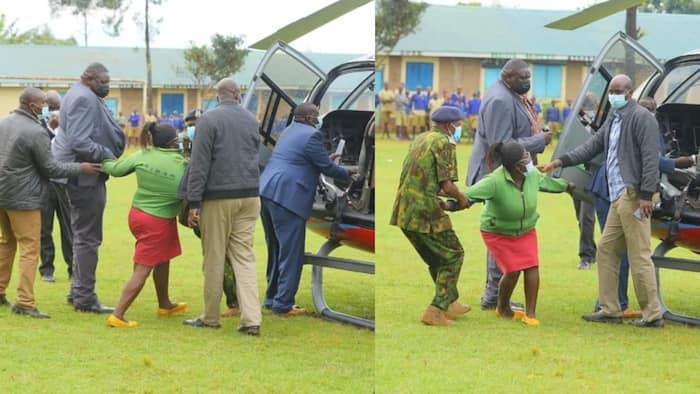 Mwanamke Aliyezuiwa na Polisi Kumkaribia Matiang'i Akanusha Madai Alitaka Kuomba Pesa