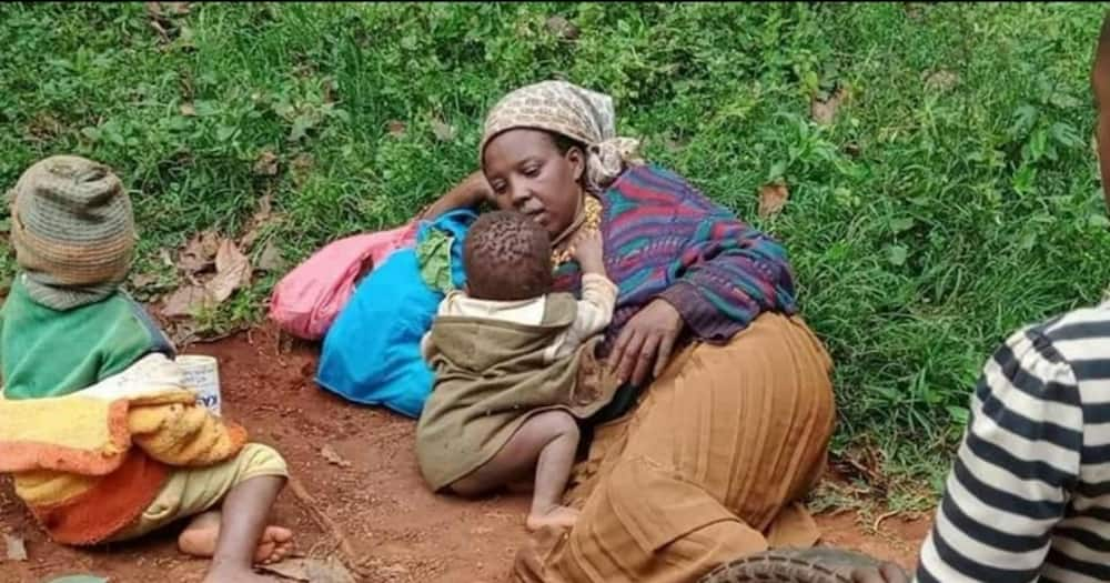 Nyeri Mother of Eight Who Lived in Dilapidated Mud House Gets New House with Electricity