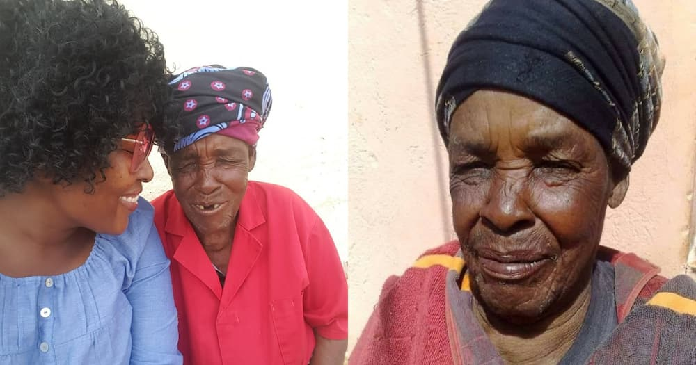 """Halala: Gogo celebrates her incredible 110th birthday: """"She is a blessing"""""""