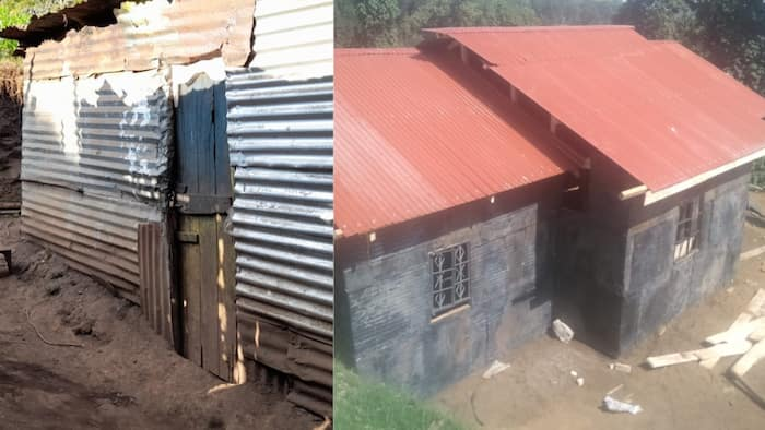 Narok: 76-Year-Old Widow Emotional After Receiving Four Bedroomed Bungalow from Well Wishers