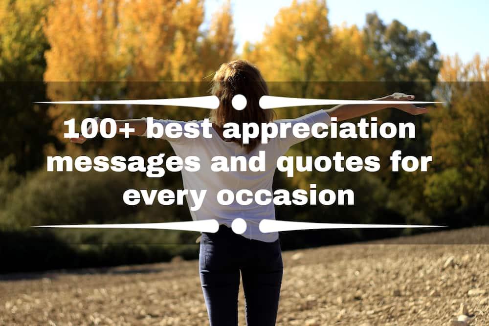 appreciation messages