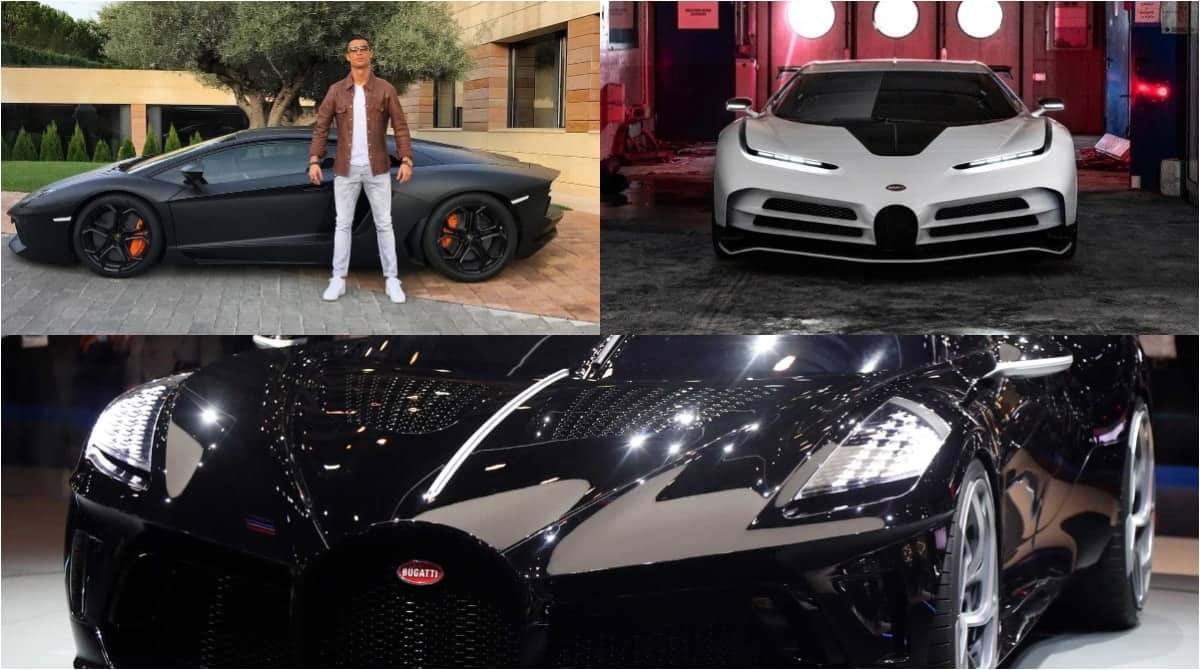 Cristiano Ronaldo's exotic car collection valued at ...