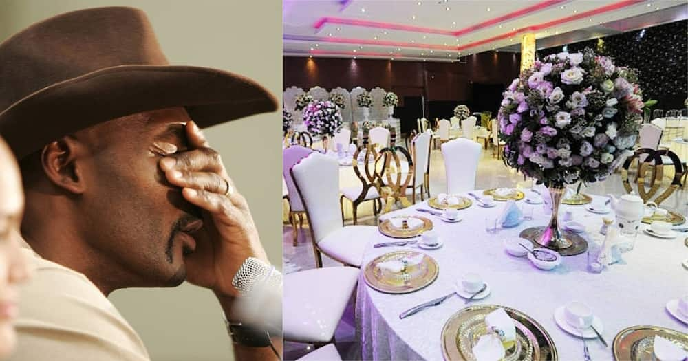 The wedding, which cost KSh 3.6 million, was held at Hotel Kempinski.