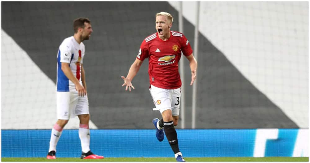 Donny van de Beek: New Man United frustrated after defeat to Crystal Palace