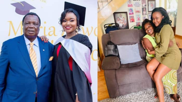 Atwoli's Beautiful Daughter Introduces Gorgeous Mom in Cute Photo