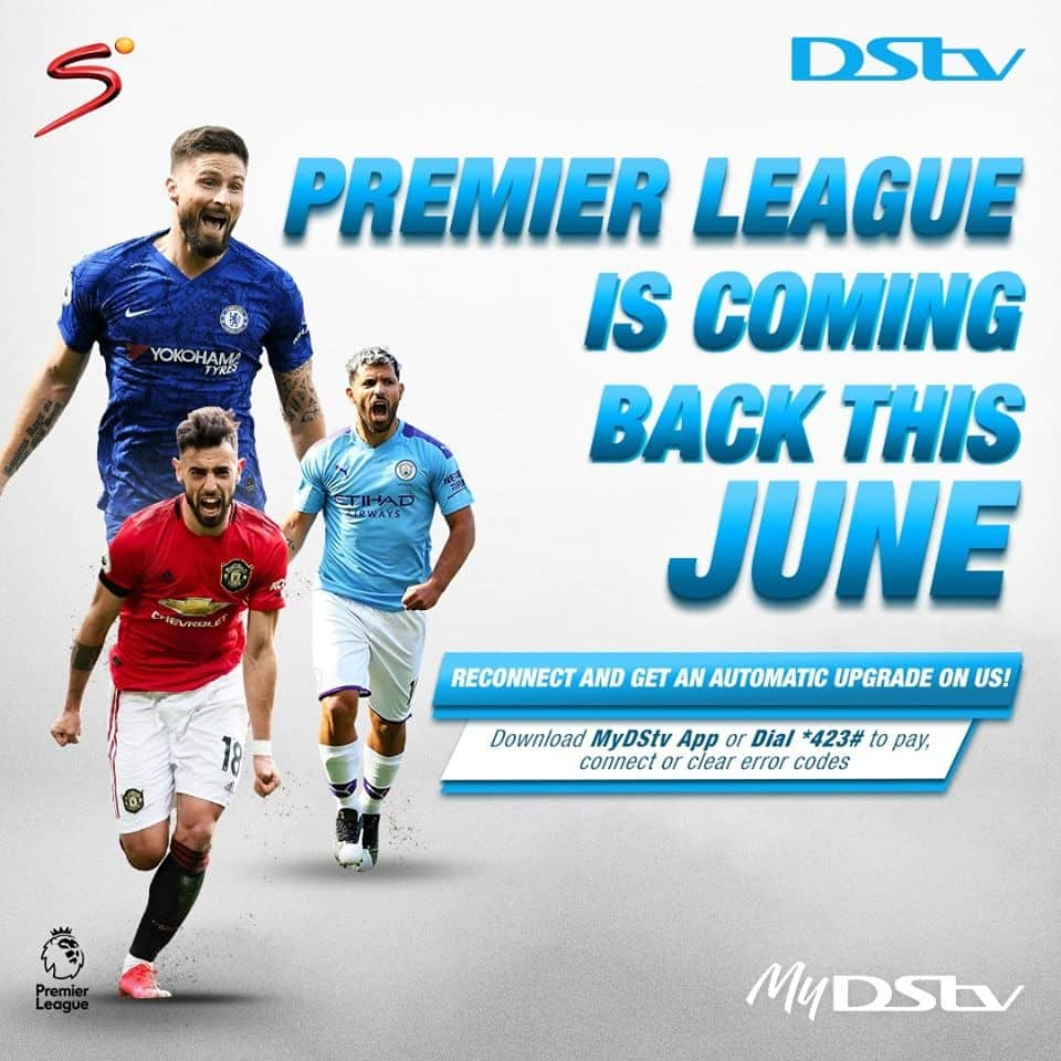 Good news for sports enthusiasts as live sports makes comeback on DStv and GOtv