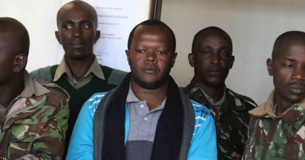 Peter Mugure said his termination was unconstitutional.