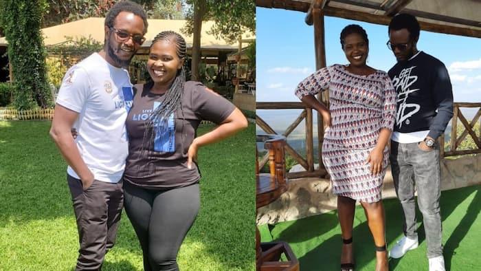 Prof Hamo, Second Wife Jemutai Enjoy Staycation in Mombasa