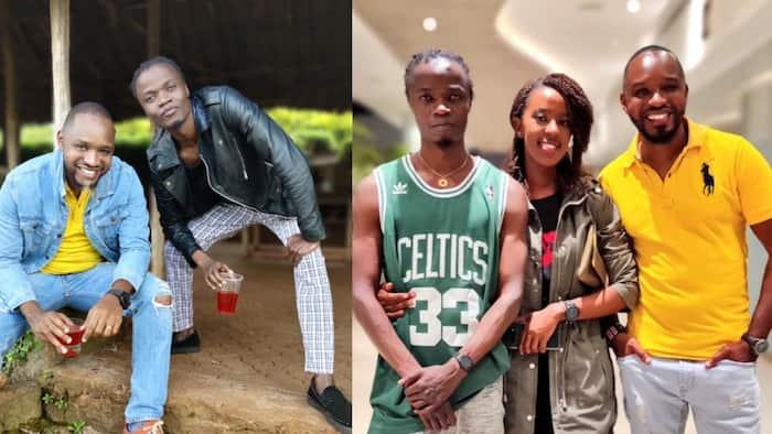 Juliani: Netizens Unleash Rapper's 'Angry' Tweet after Boniface Mwangi Flaunted His Photos with Lilian