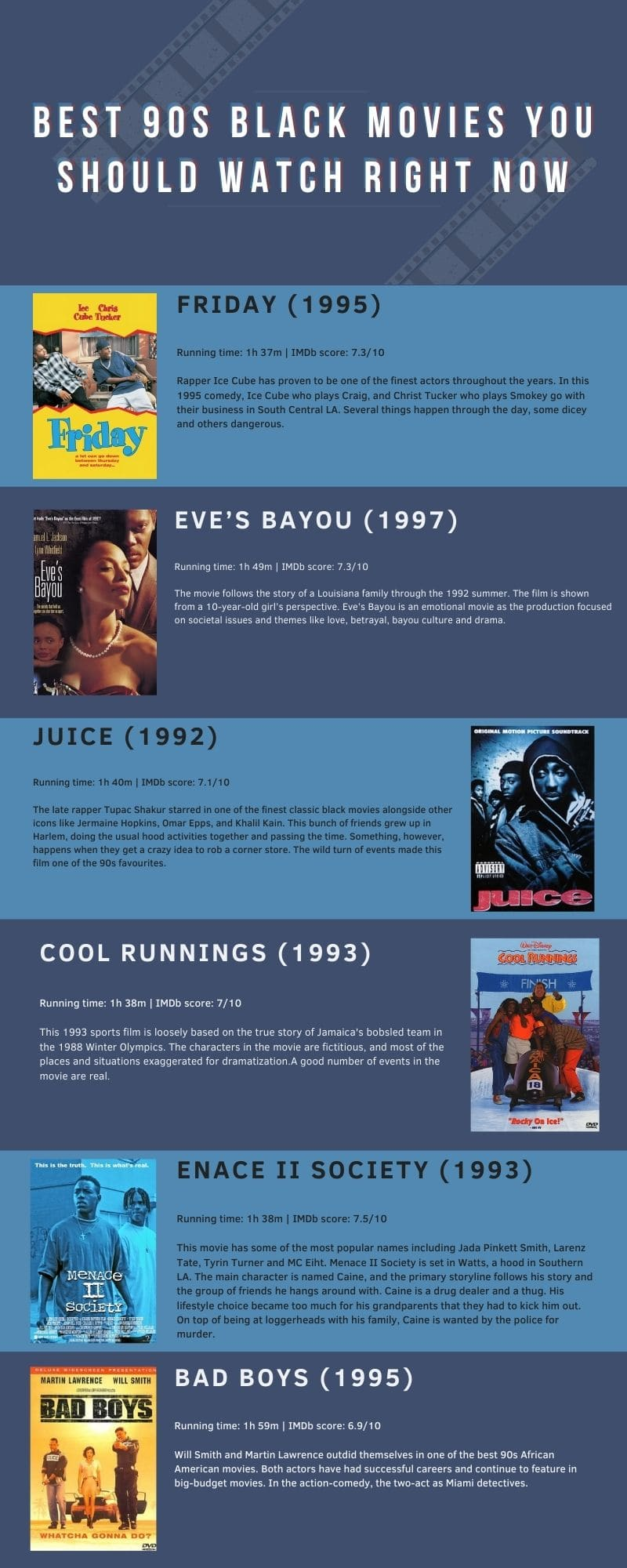 best 90s black movies you should watch right now