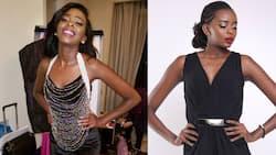Kanze Dena celebrates little sister after she emerged second during Miss World Kenya competition