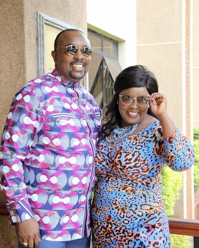 To God be the glory: Bishop Kiuna, wife over the moon after birth of grandson