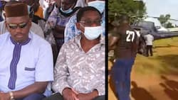 Siaya: Goons Stone Helicopter Carrying James Orengo, MP's Bodyguard Forced to Fire in the Air