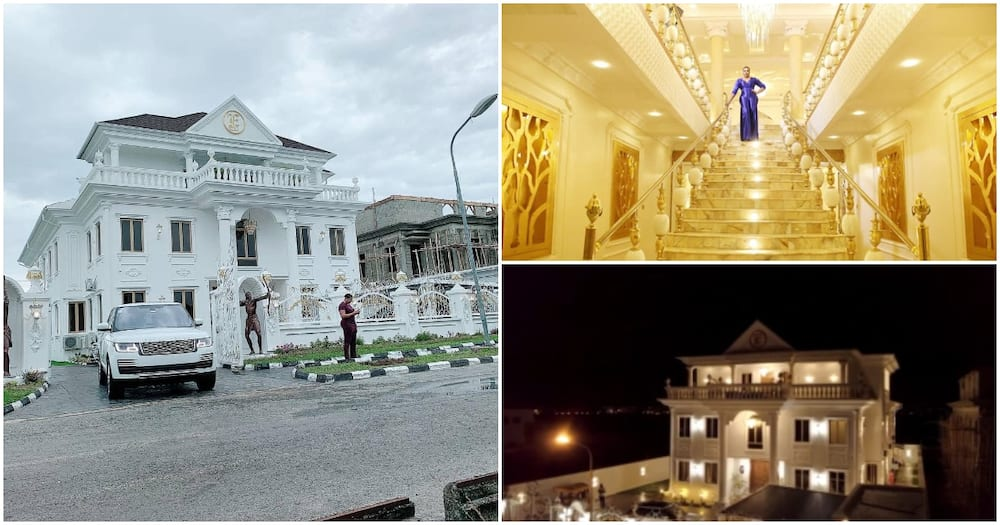 Lady gifts herself a palatial 7-bedroom mansion to celebrate turning 35 (photos, videos)