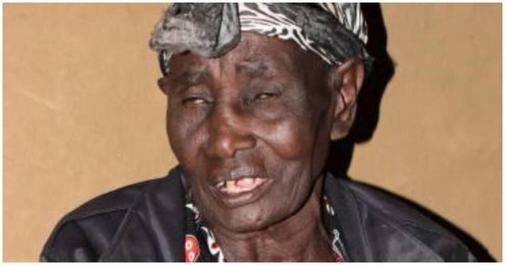 Esther Muhatia, the widow of Timona Mlana Amukumbi. Photo: Standard.