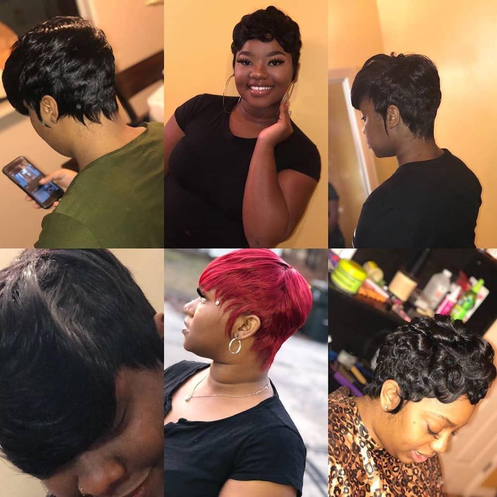 20 Best Short Quick Weave Hairstyles 2020 Tuko Co Ke