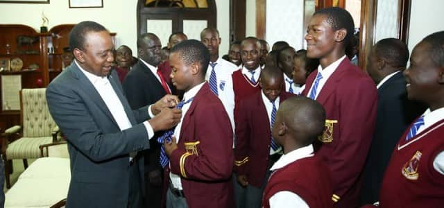 There is a problem in our schools, churches need to mentor students - Uhuru