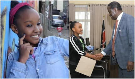 13-year-old Kenyan gymnast Wendy Waeni scores 340 marks in KCPE