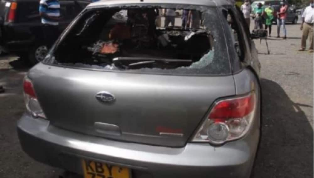 Man who died in car fire secretly transferred KSh 10K from wife's bank account