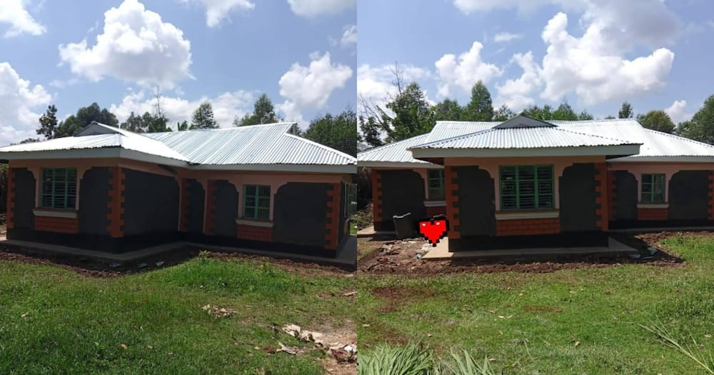 Kenyan Woman Working in Gulf for 2 Years Builds Mother Lovely 3-Bedroomed House