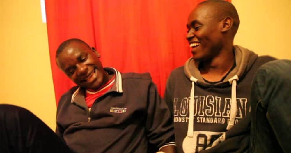 The two are the leading actors in the I Am Samuel documentary banned by KFCB. Photo: Peter Murimi.