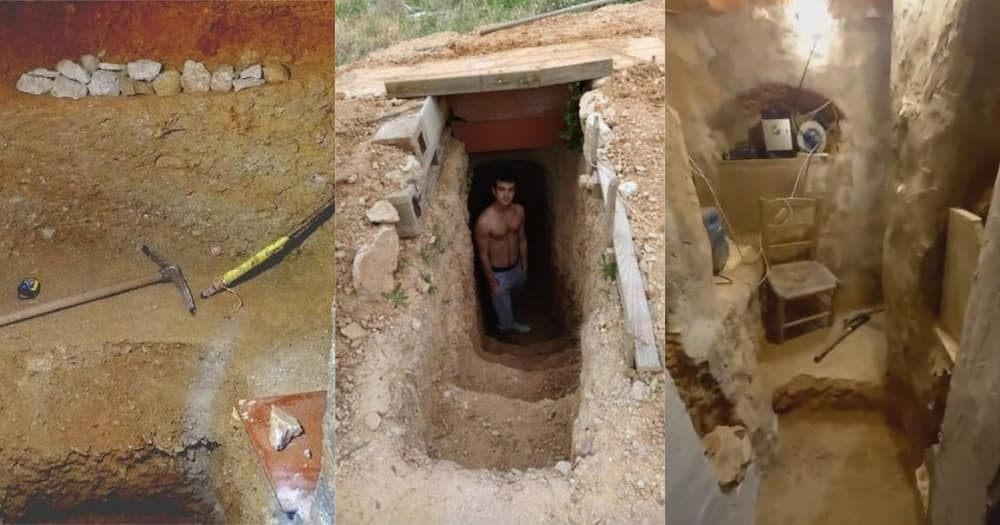 Teen Spent 6 Years Building Underground Cave After Arguing with Parents