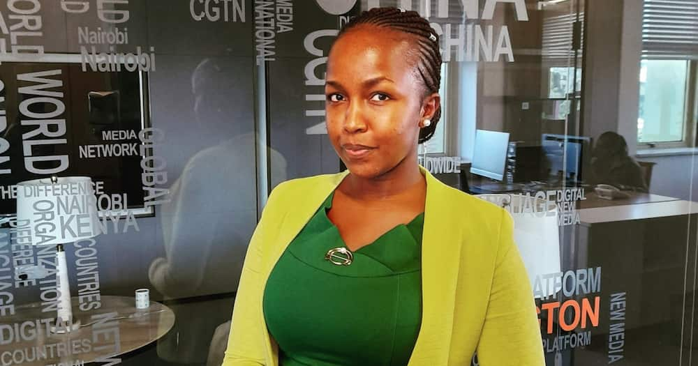 Grace Kuria had previously worked for K24 and KTN before landing at CGTN Africa.