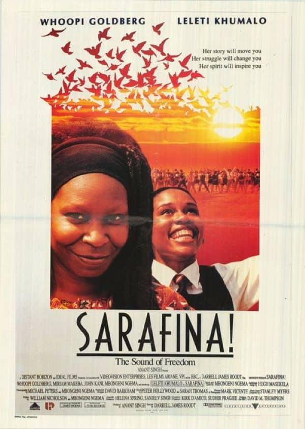 Sarafina cast