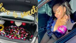 Mechanic Buys Childhood Sweetheart Car, Proposes On Her 21st Birthday Party