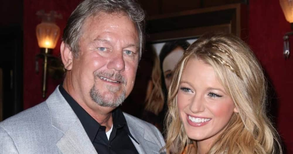 The late Ernie Lively his daughter Blake Lively. Photo: Getty Images.