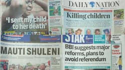Kenyan newspapers review for September 24: Precious Talent School held prayer day for KCPE candidates on Sunday