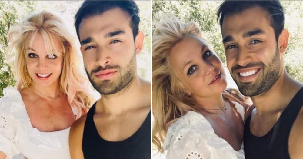 Britney Spears, Sam Asghari, engaged, proposed.