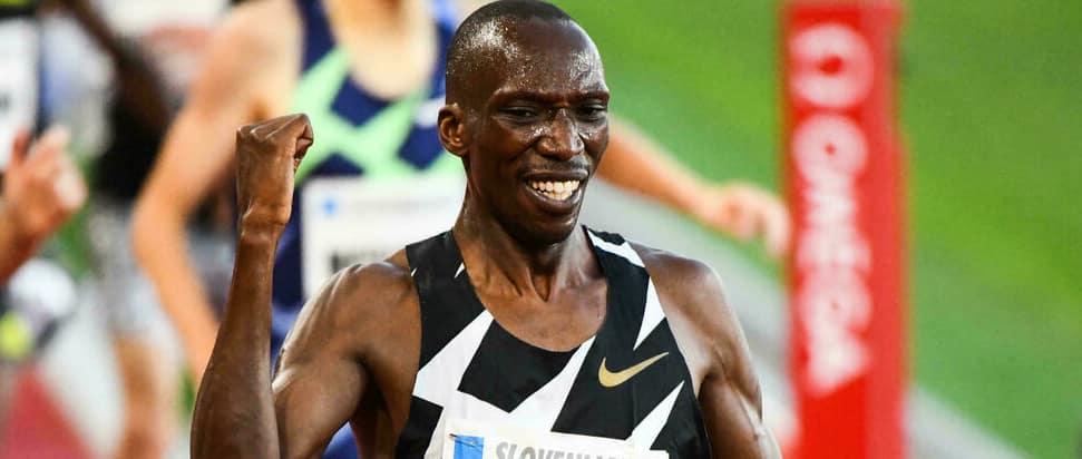 Kenyan 1500m Star Timothy Cheruiyot Called up To Olympic Squad