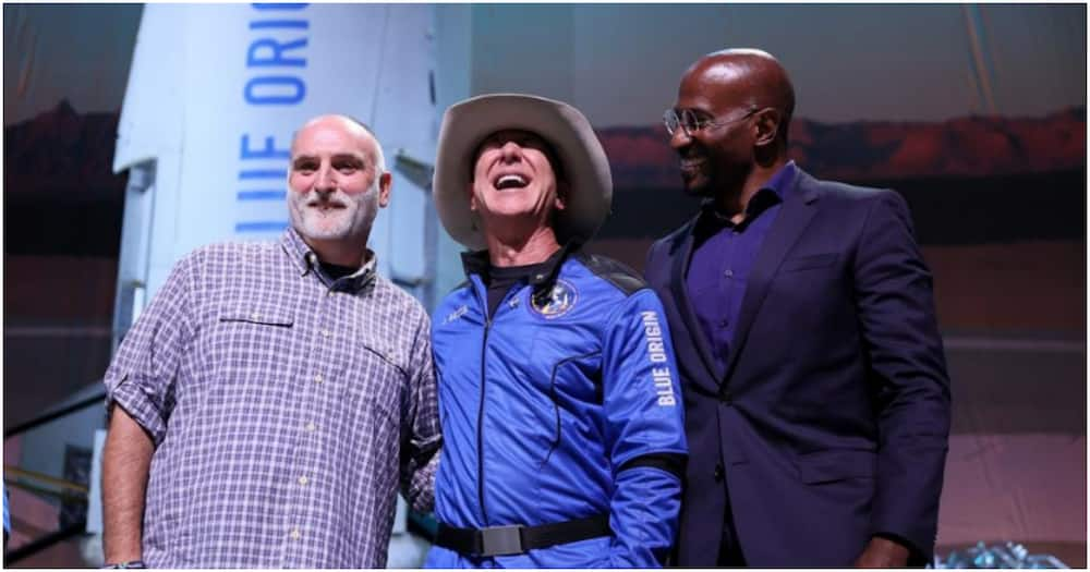 Jeff Bezos announced he would donate KSh 10,818,000,000 each to CNN journalist Van Jones and chef José Andrés.