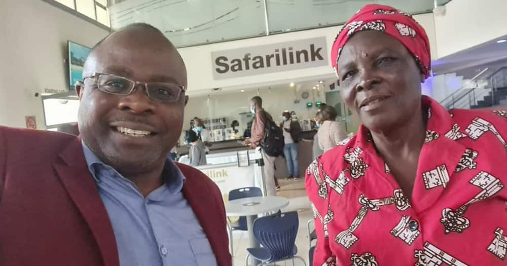 Alex Chamwada celebrated his mother with a nice Bible verse.