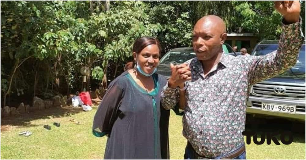 Njenga is set to lead Susan's campaigns and has formed a team of young people to push her agenda. Photo: TUKO.co.ke.