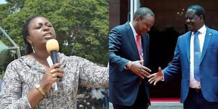 Mbunge wa Malindi Aisha Jumwa atilisha shaka msimamo wa Raila kuhusu salamu za maridhiano