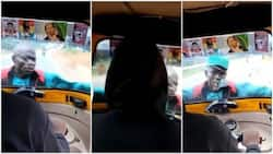 Man Clings on to Moving Tuk Tuk While Demanding KSh 10 from Driver