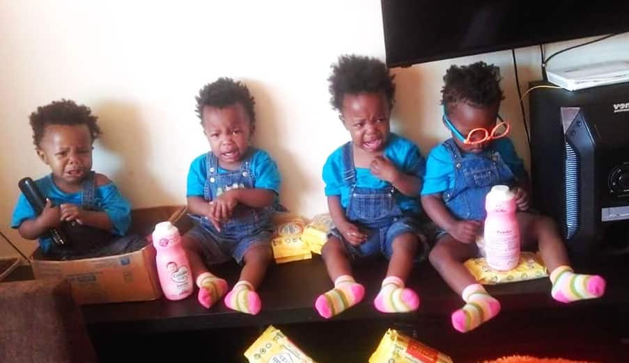As the quadruplets celebrate their fifth birthday, mother Divinar is grateful for the far they've come.