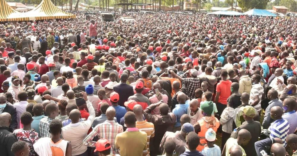 DP Ruto awaambia Wakenya wamsamehe Raila kwa kuulizia uhalali wa utajiri wake